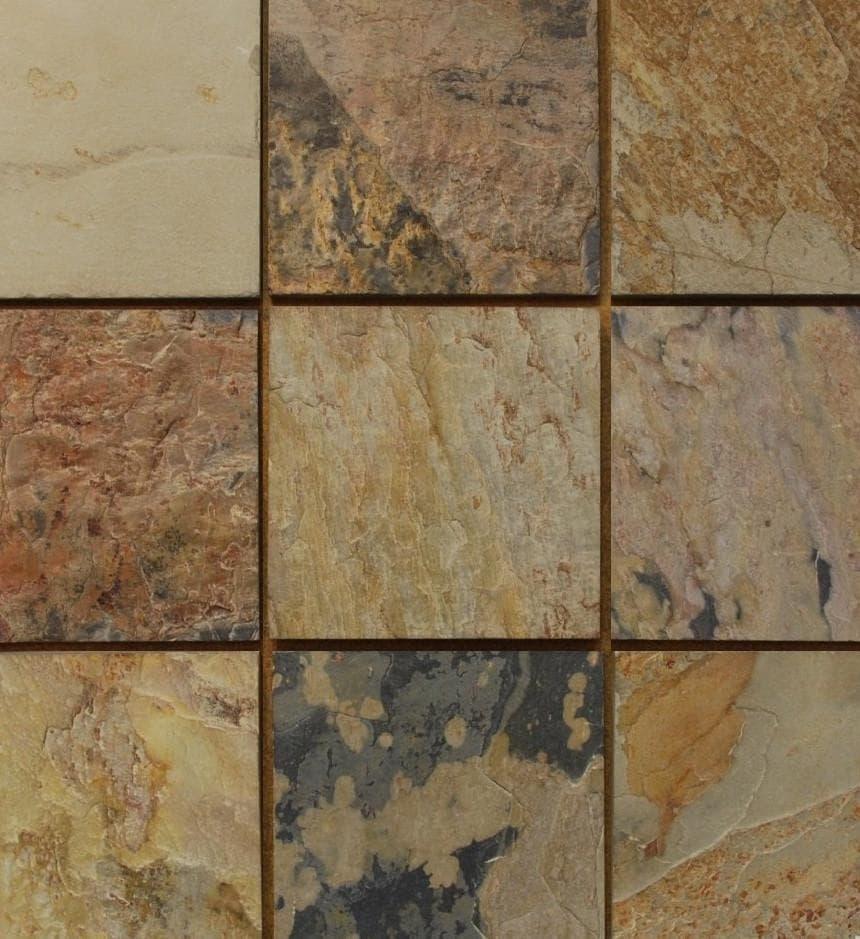 Stone Tile Shoppe Inc Autumn Slate Tile Autumn 4 X 4 Sample