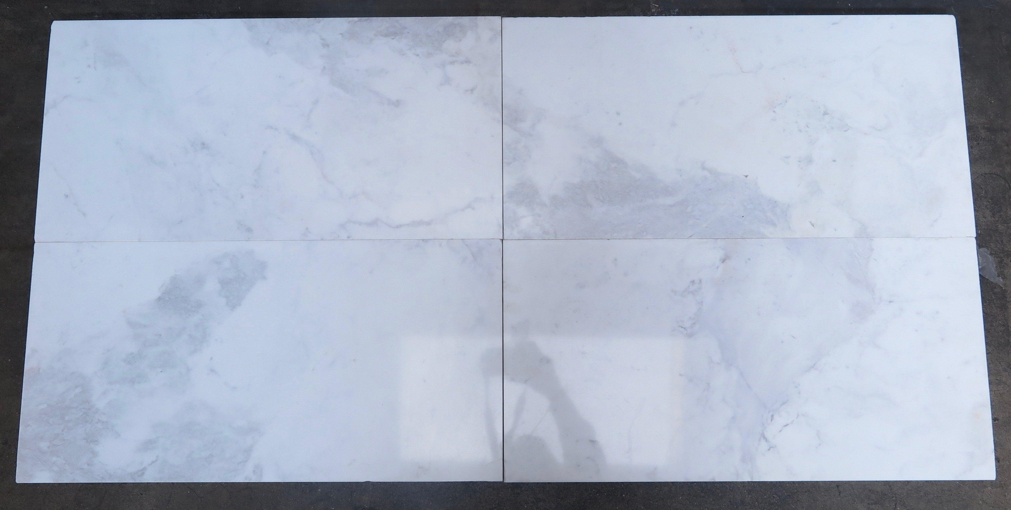 Stone & Tile Shoppe, Inc. Bianco Volakas Marble Tile Bianco Volakas ...
