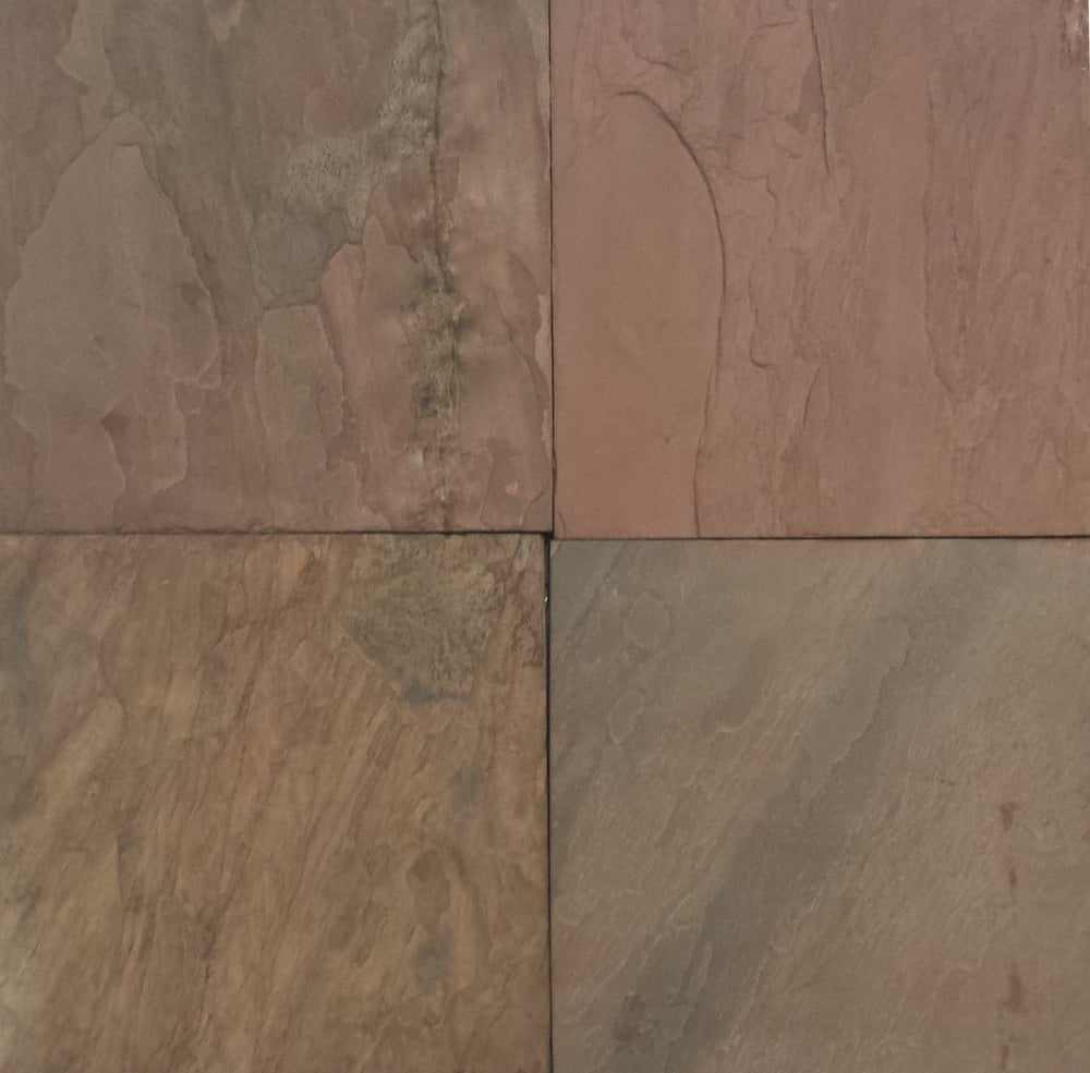 Stone Tile Shoppe Inc Burnt Sienna Slate Tile Burnt Sienna - 20x20 slate tile