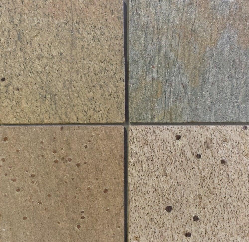 Stone & Tile Shoppe, Inc. Golden Slate Tile Golden / 12 x 12 x 3/8 ...