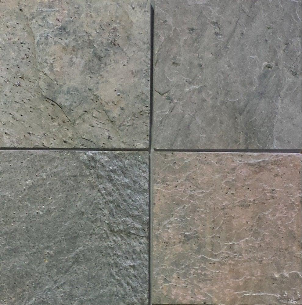 Stone Tile Shoppe Inc Ocean Green Slate Tile Ocean Green 12 X
