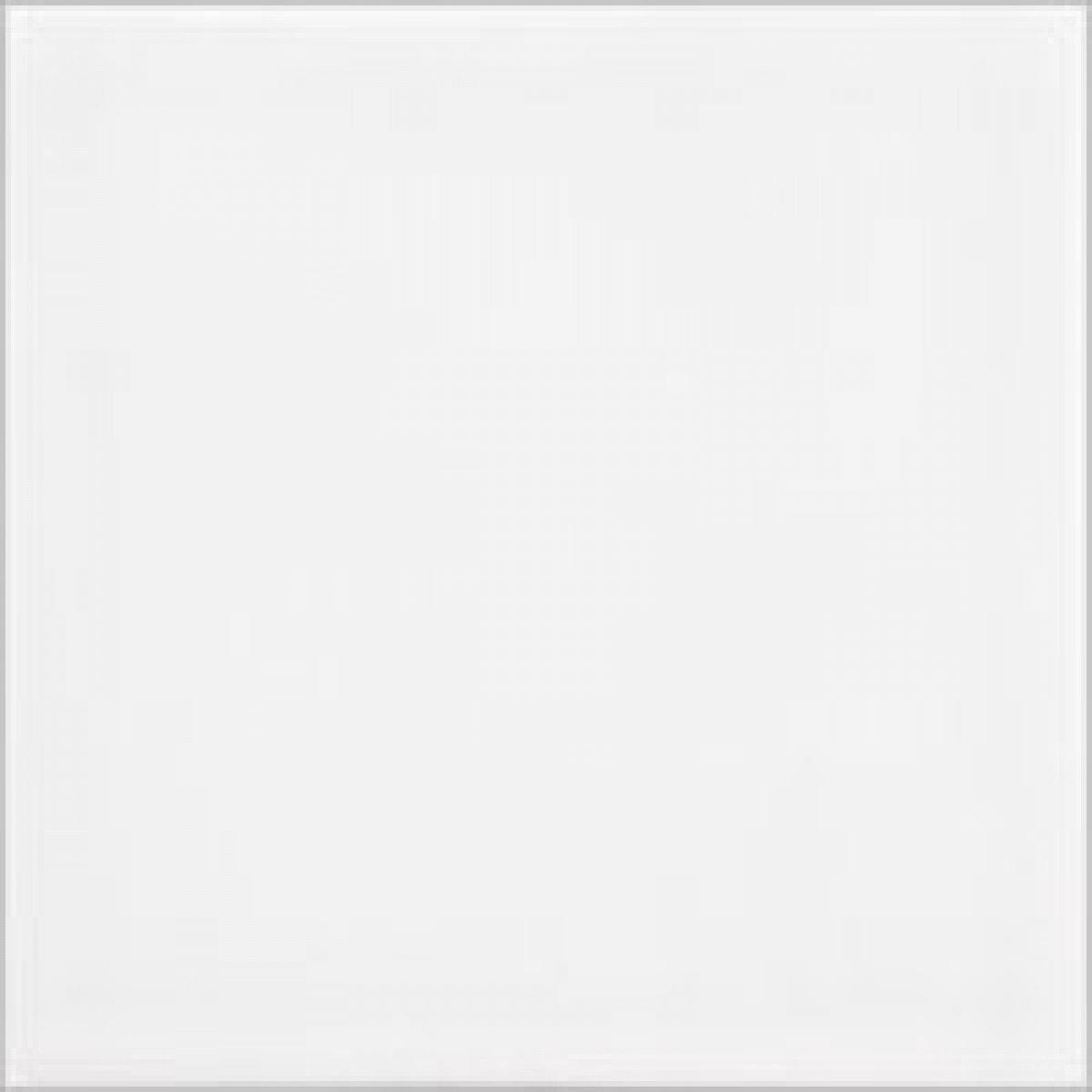 """Ceramic Tile / 4 x 4 x 0.25 inches / Glossy 4"""" X 4"""" Ceramic Tile In Bright Glossy White 0"""
