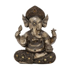 Benzara - Striking Ps Gold Ganesha