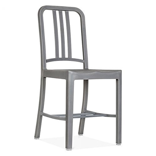 nicer furniture set of 2 replica emeco us navy chair grey dining