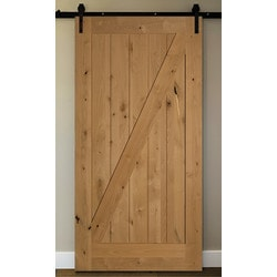 American Door Company 48  x 84   Knotty Alder 1-Panel Z-Bar  sc 1 st  BuildDirect & Interior Doors | BuildDirect®