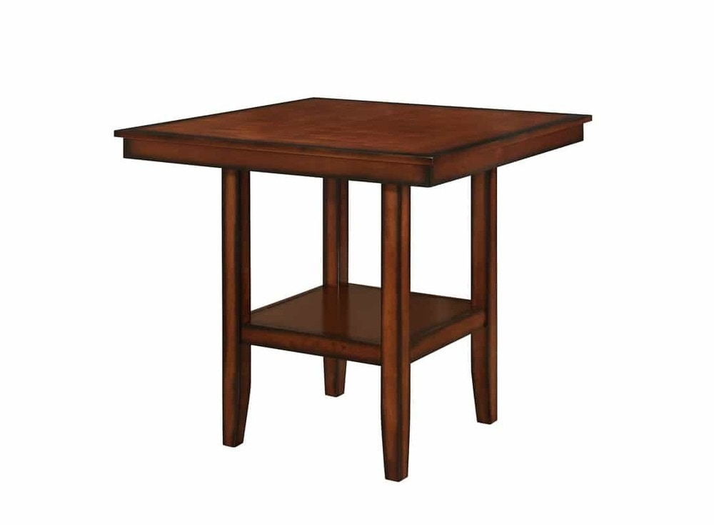 Hommax furniture counter height square table with storage counter hm4040365927360655e52 watchthetrailerfo