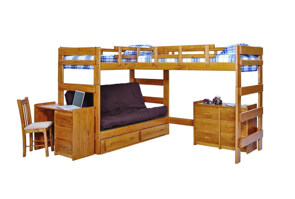 low bunk beds