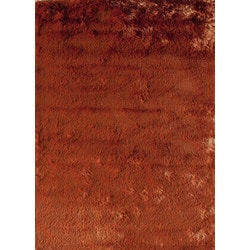 "Jayden Home - Franklin Shag Burnt Orange 18"""" X 27"""""