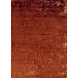 "Jayden Home - Franklin Shag Burnt Orange 18"""" X 27"""""