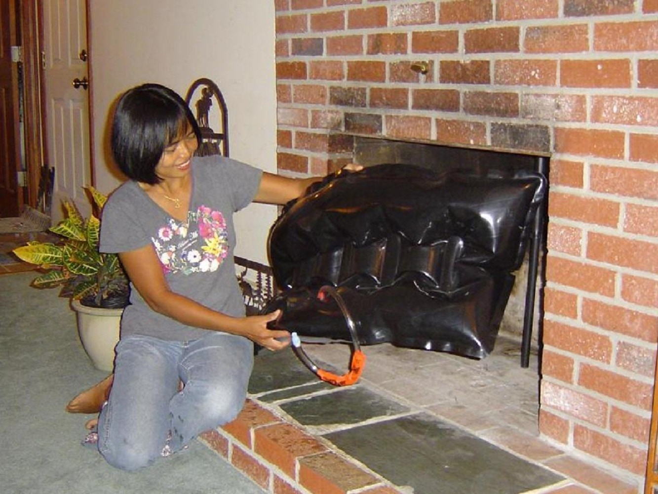 Battic Door Battic Door® 18 in. x 38 in. Rectangular Fireplace ...
