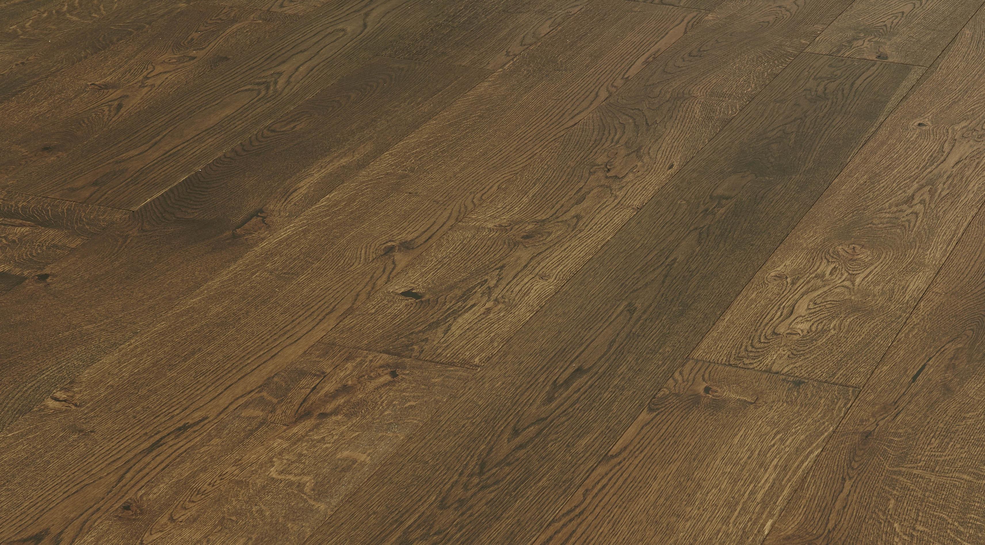 """Edinburgh / Oak / UV Cured / ABC / 7 1/2"""" Engineered Hardwood - Bonaparte French Oak Collection 0"""