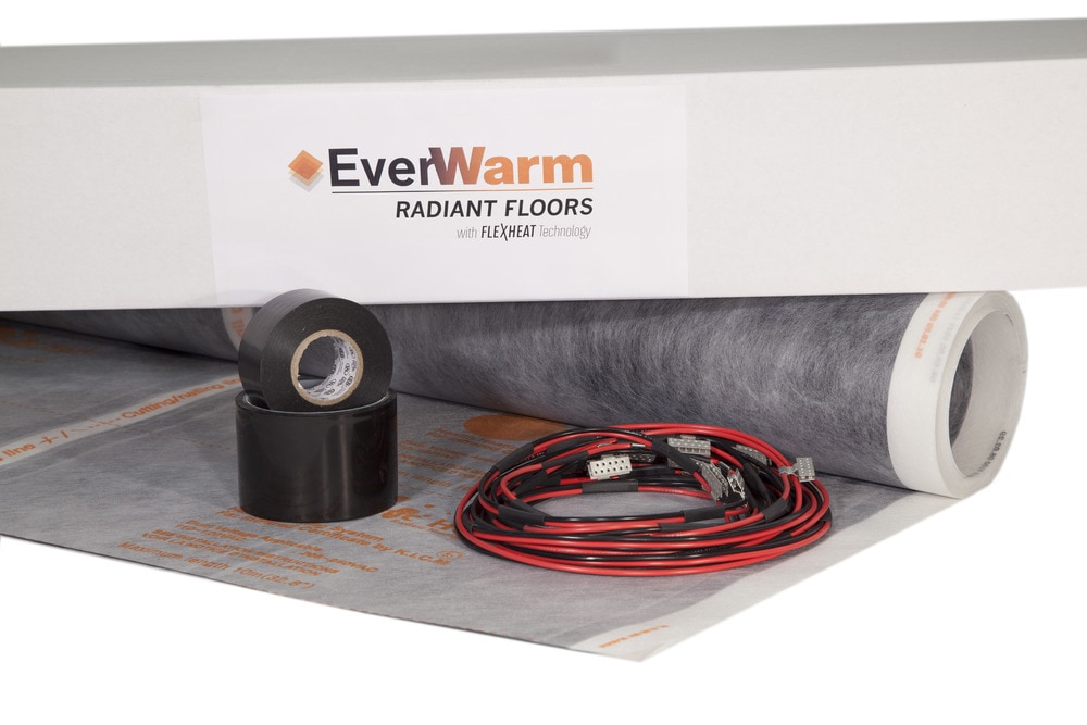 Everwarm underfloor heating electric radiant heating for Electric radiant heat thermostat