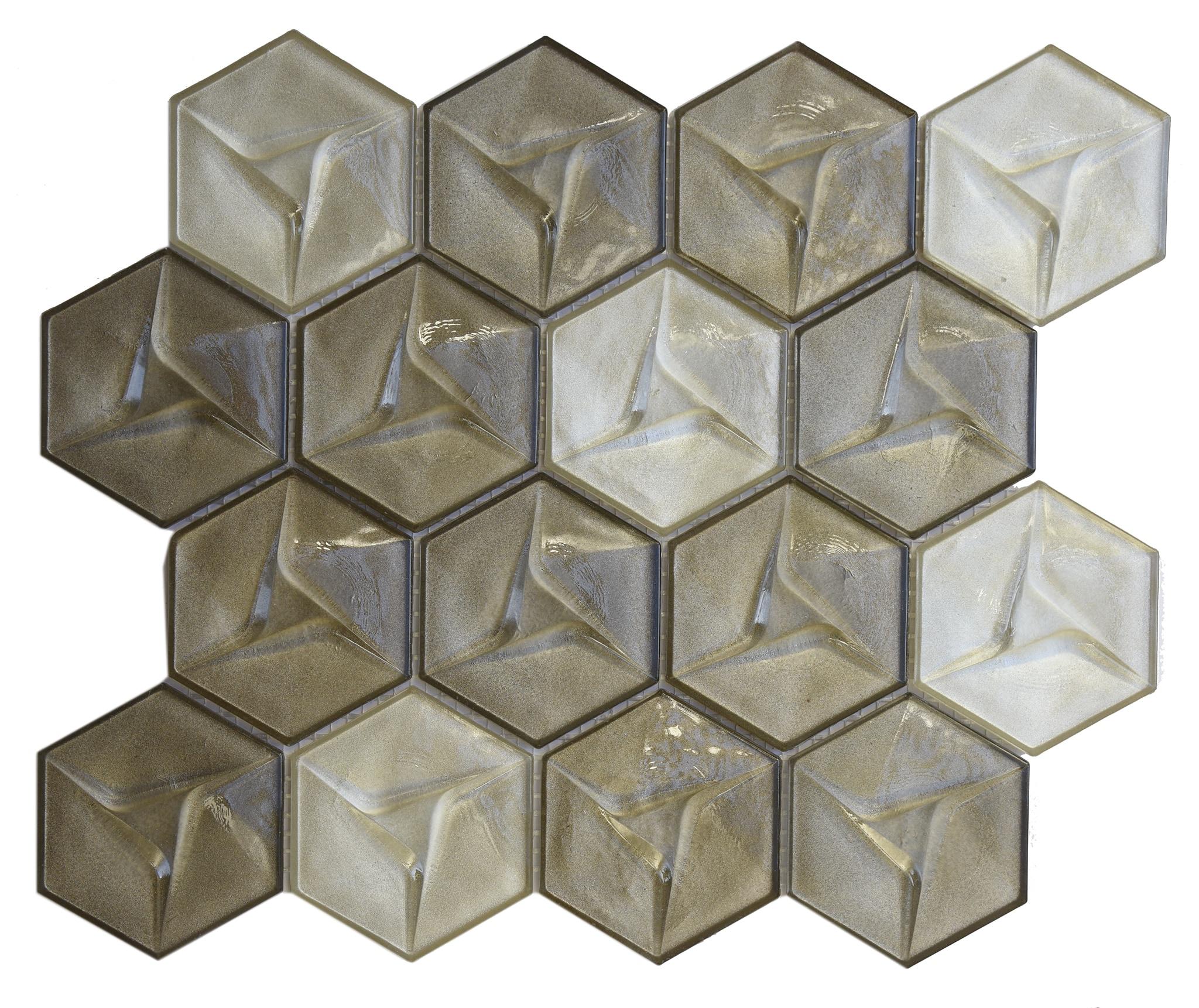 Comtemporary Neutral geometric metallica 0
