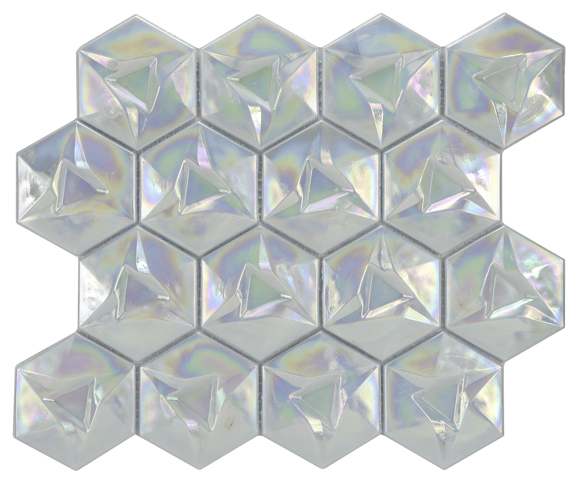 Comtemporary Xenon geometric metallica 0