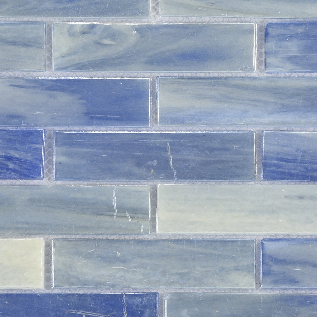Byzantin Mosaic blue laguna glass Comtemporary