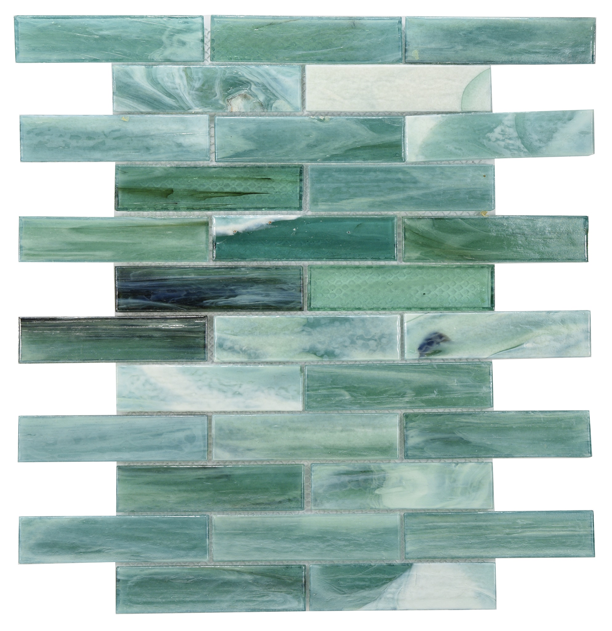 Comtemporary green laguna glass 0