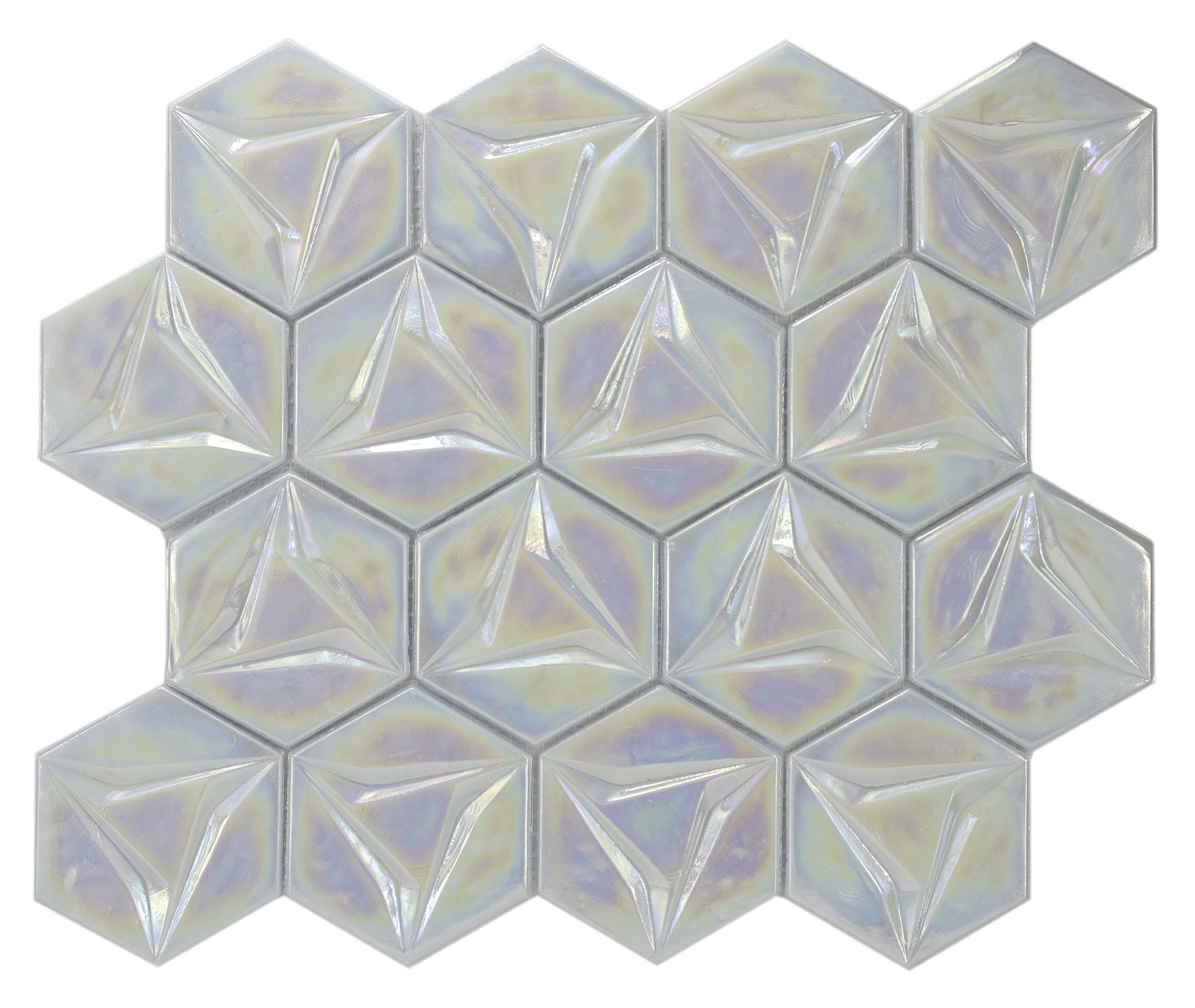 Comtemporary Psychedelic geometric metallica 0