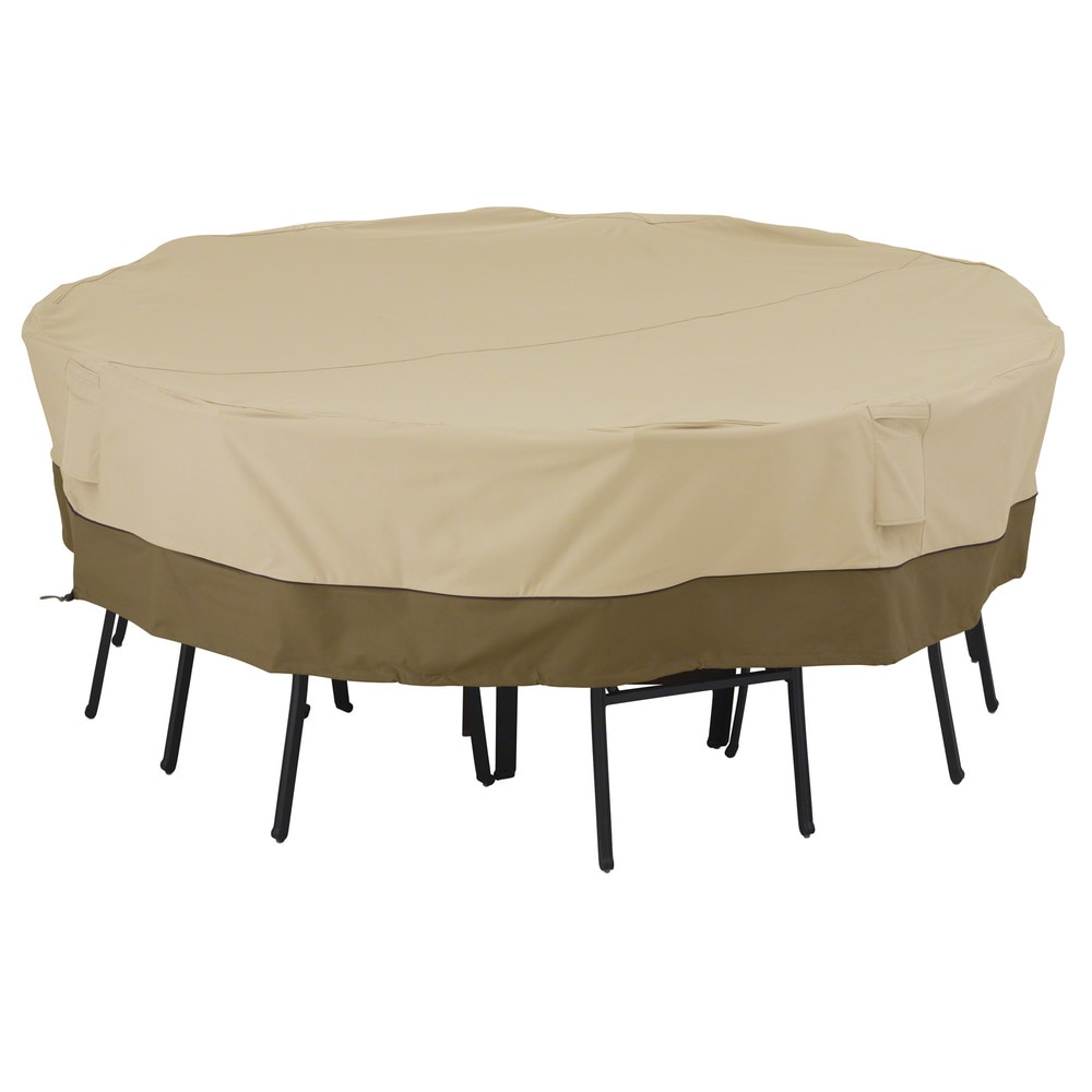 Classic Accessories Veranda Patio Furniture Set Covers Patio Table and Chair