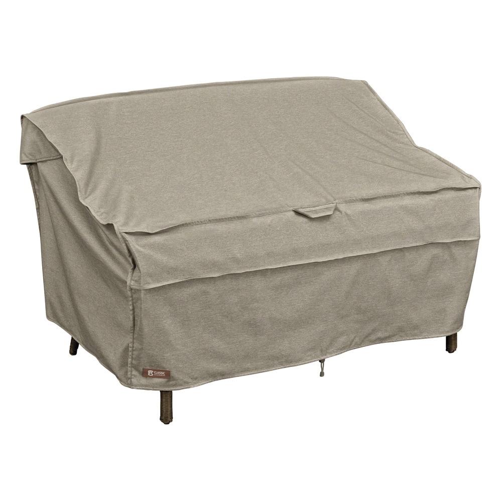 Classic Accessories Montlake Patio Sofas Bench Covers Patio Bench Loveseat Sofa Cover Medium