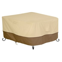 Classic Accessories - Veranda Fire Pit Table Cover Square