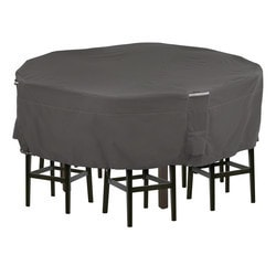 Classic Accessories - Ravenna Round Patio Table and Chair Set Cover