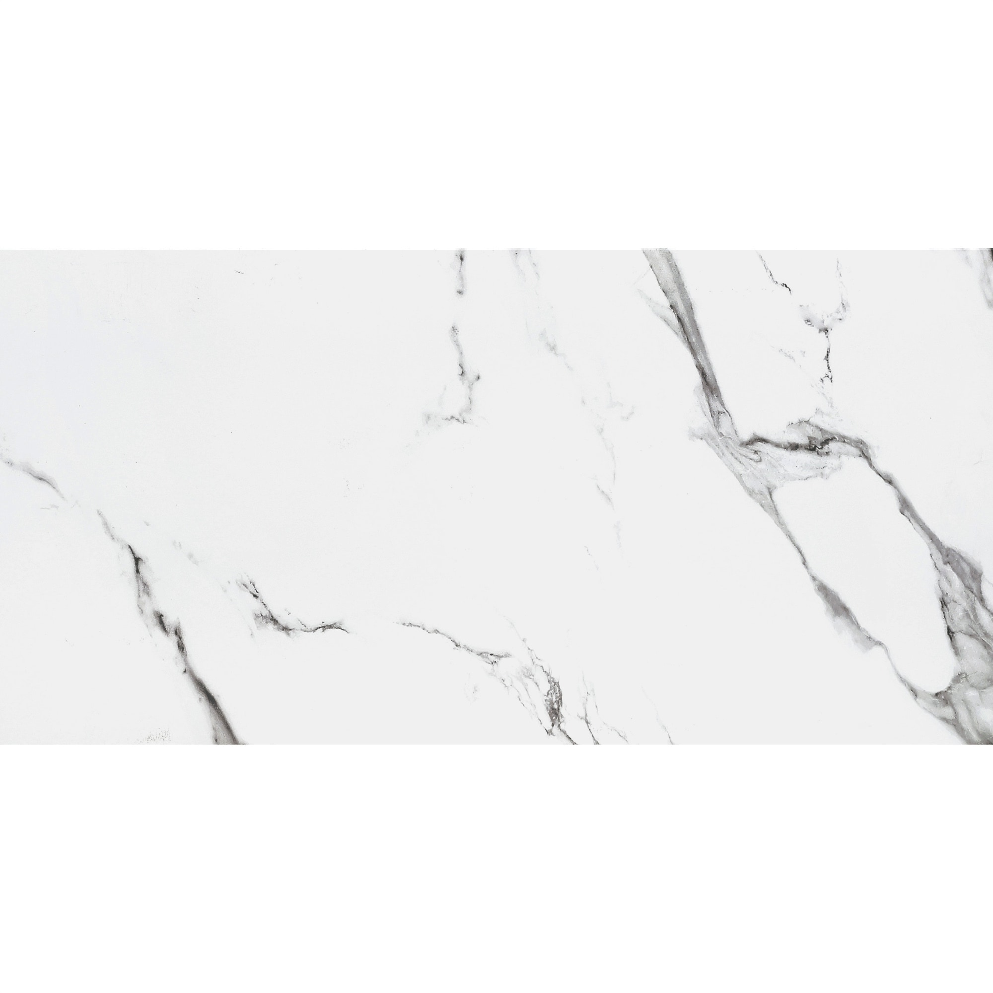 "Statuario Extra / 12""x24"" / Polished Porcelain Tile - Statuario Marble 0"