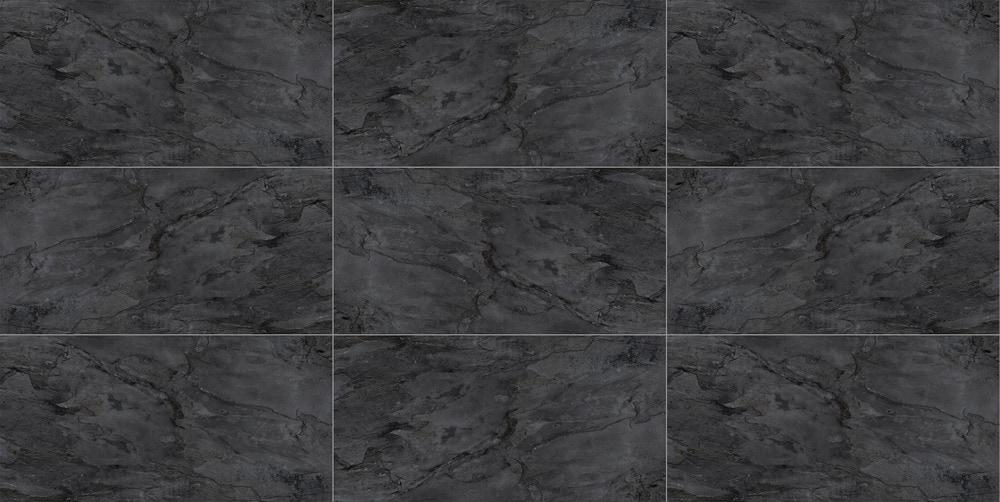 Free Samples Torino Italian Porcelain Tile River Slate Black 12 X24 Matte