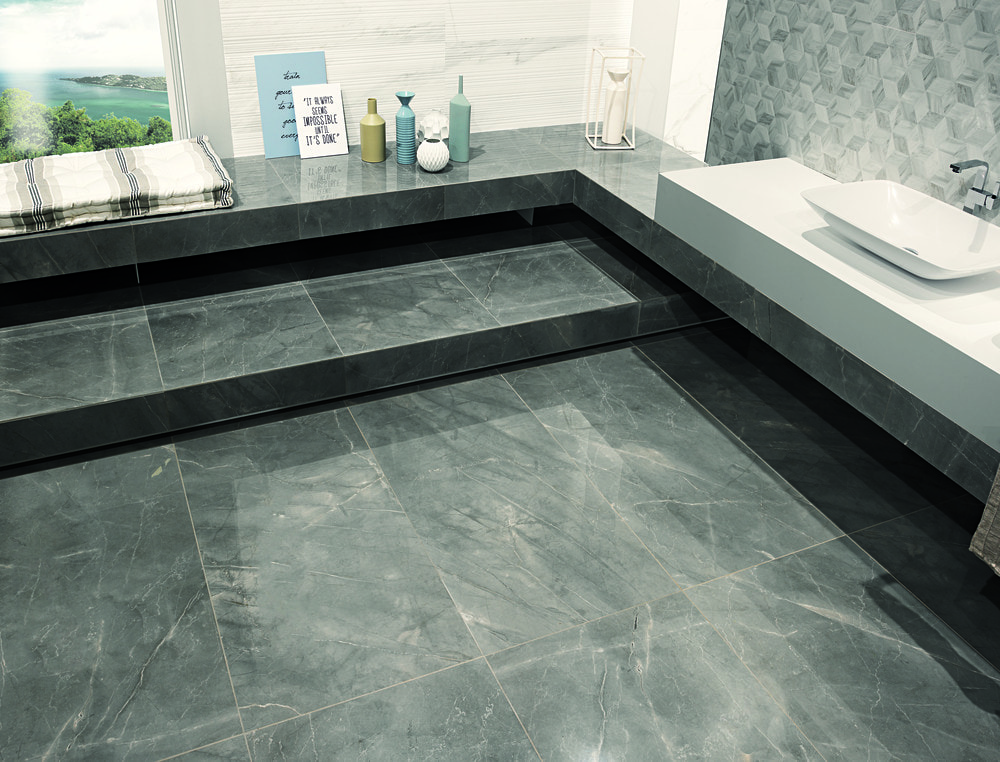 Free Samples Torino Italian Porcelain Tile Latitude Marble Grey