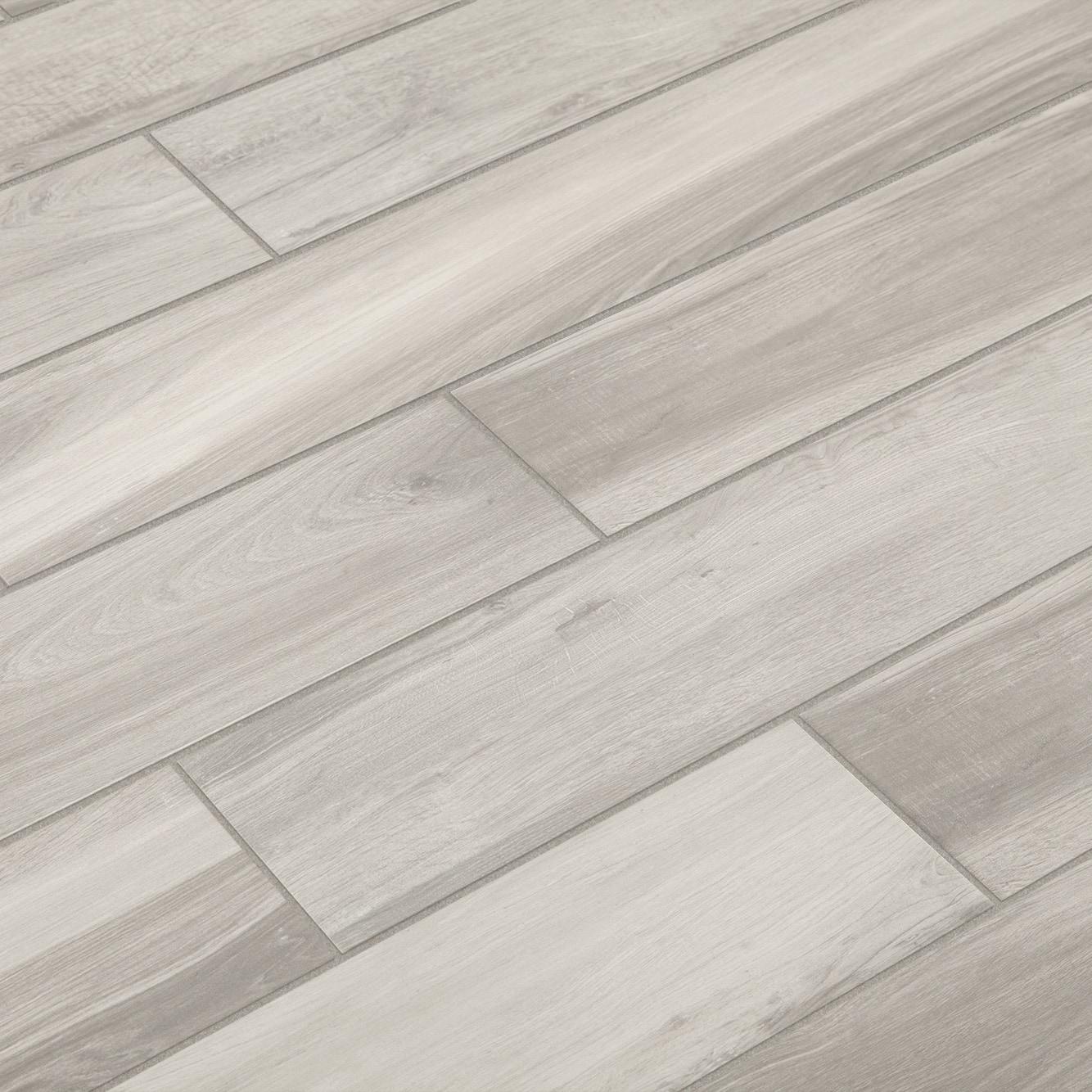 """Pebble / 6""""x36"""" / Matte Derby Series- Porcelain Tile 0"""