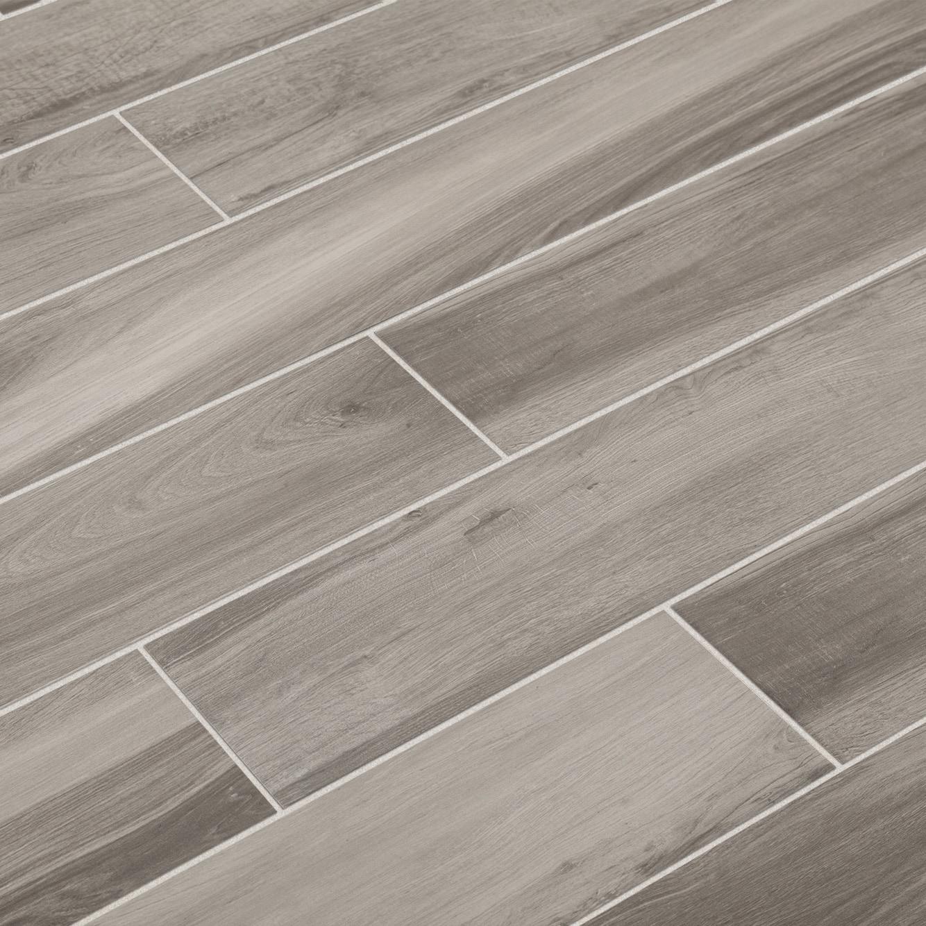 """Umber / 6""""x36"""" / Matte Derby Series- Porcelain Tile 0"""