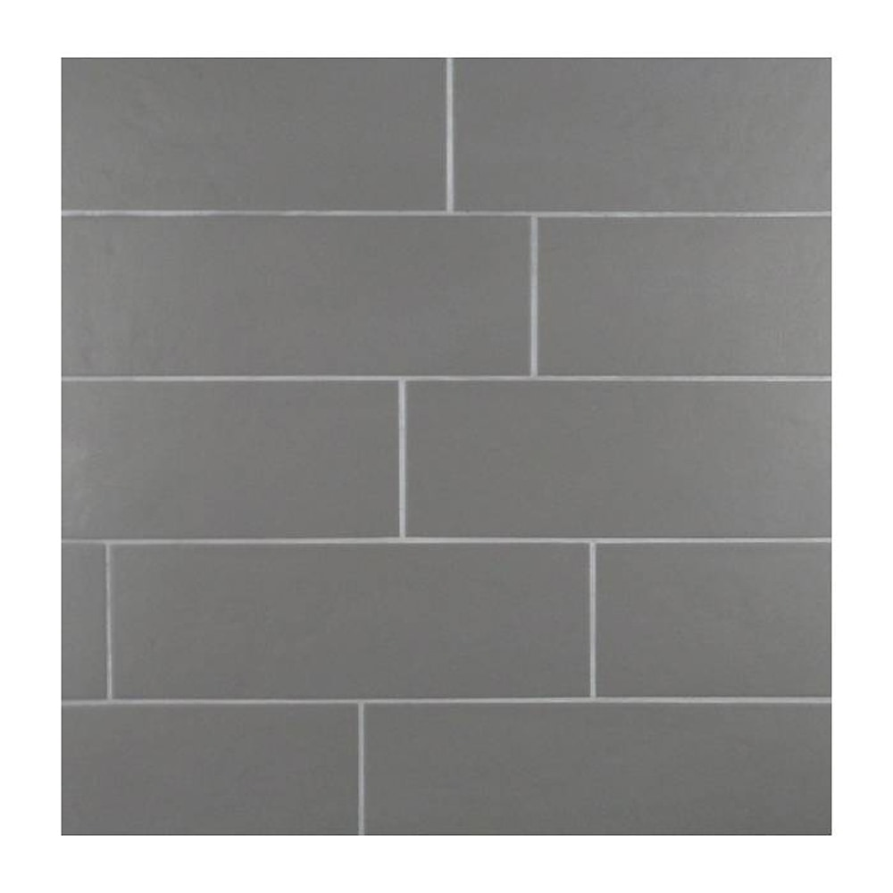 Gl Stone Tile Italian Porcelain Subway Tiles Grey 4x12 Matte