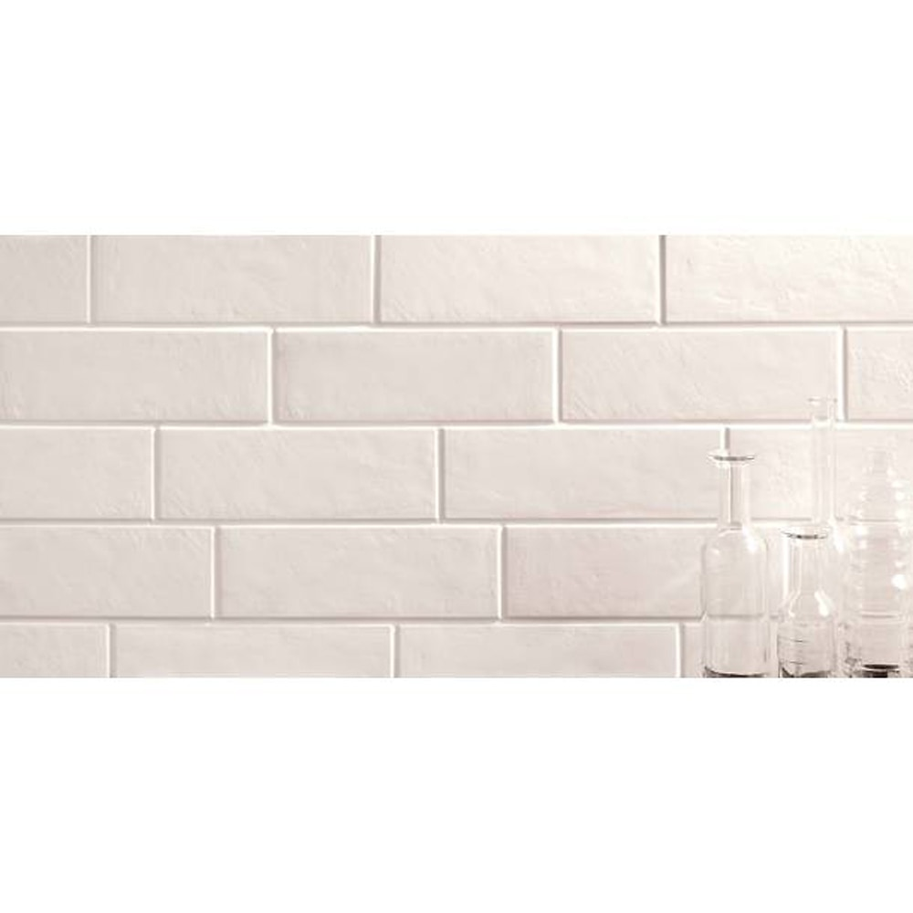 Gl Stone Tile Italian Porcelain Subway Tiles White 4x12 Matte
