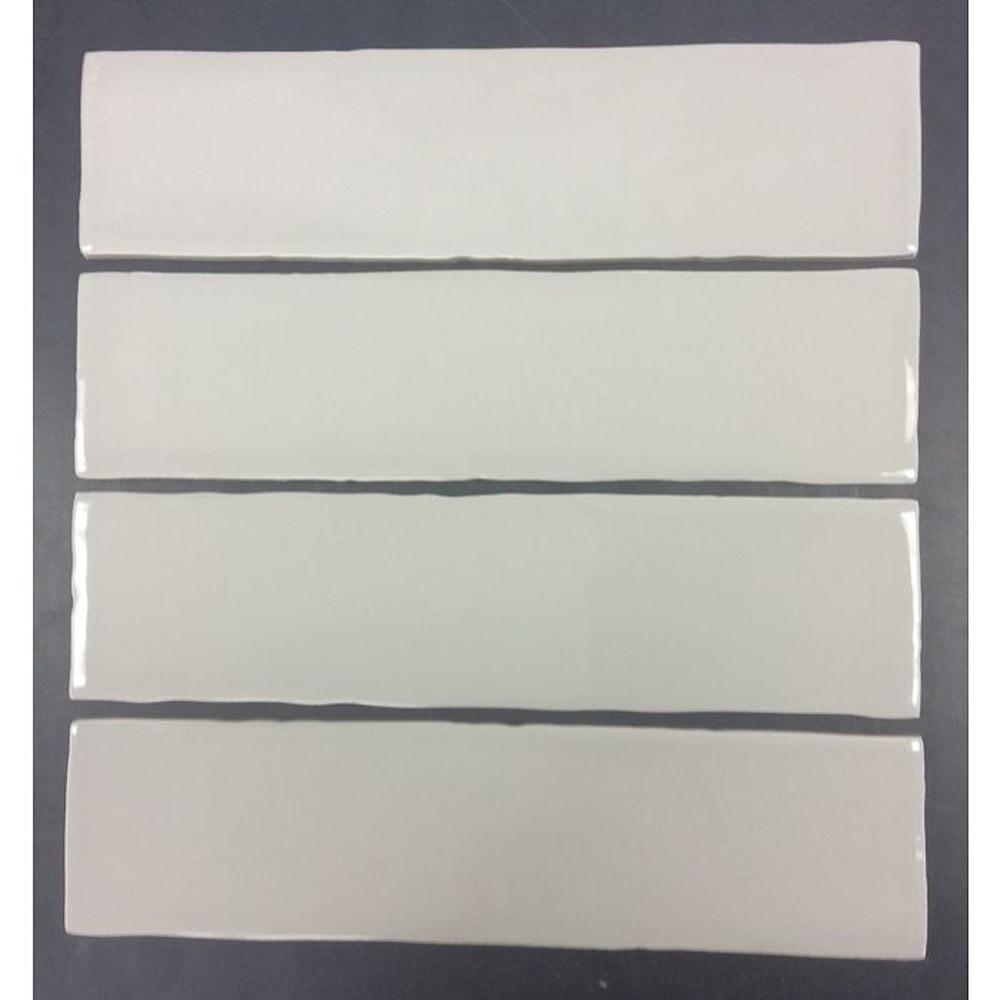 Gl Stone Tile Rippled Edge Porcelain Subway Tiles Warm Grey 3