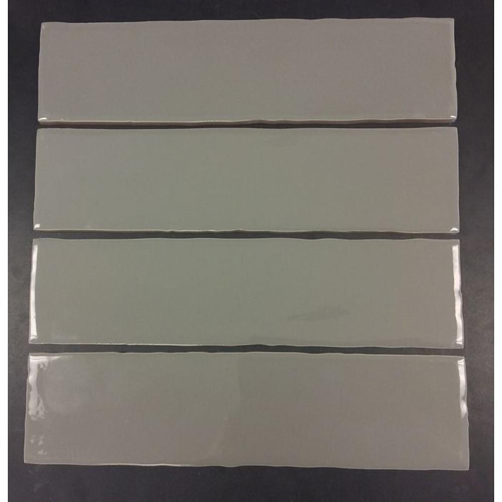 Gl Stone Tile Rippled Edge Porcelain Subway Tiles Dark Grey 3