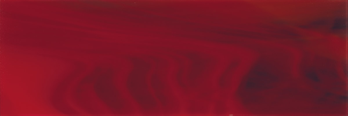 """Light and Dark Red C / 30""""x10"""" Specialty Colored Glass Tile 0"""