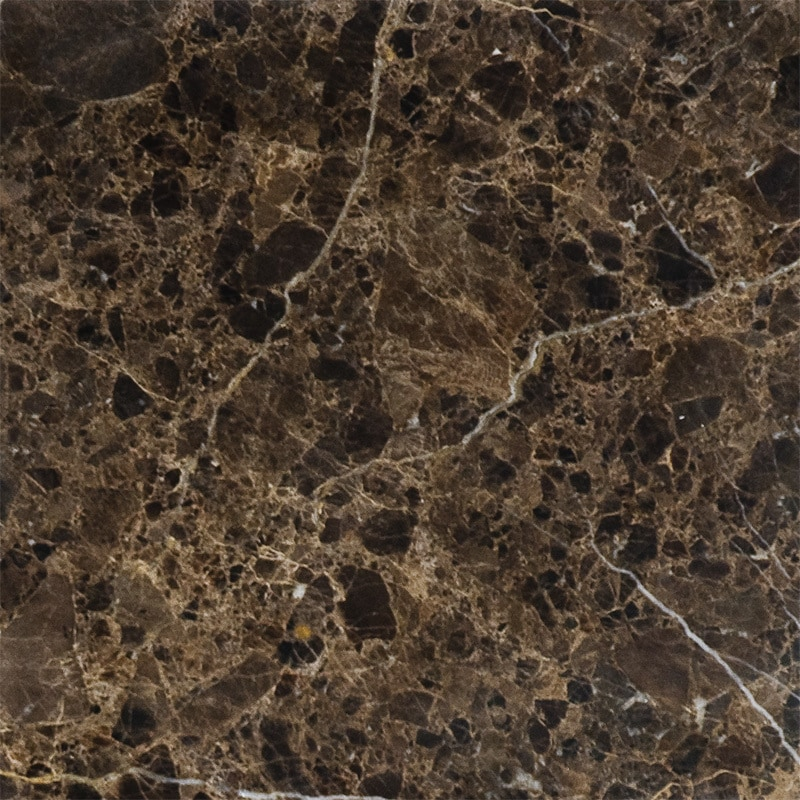 Century home living emperador dark marron imperial for 12x12 marble floor tiles