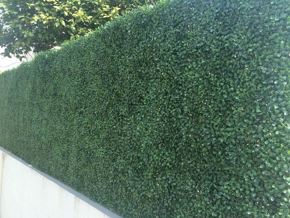 how to make artificial boxwood hedge