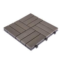 "Kontiki Interlocking Deck Tiles PS series 12""x12""x1"""