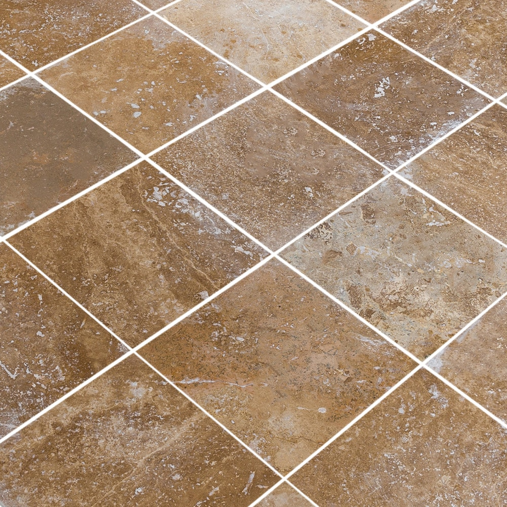 Kesir Travertine Tiles Honed And Filled Noce Rustic 18