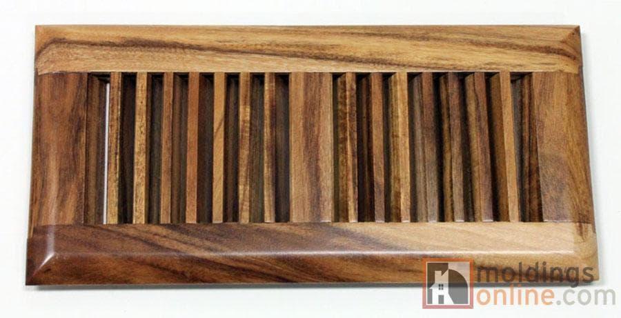 Hardwood Moldings - Exotic Acacia - Natural