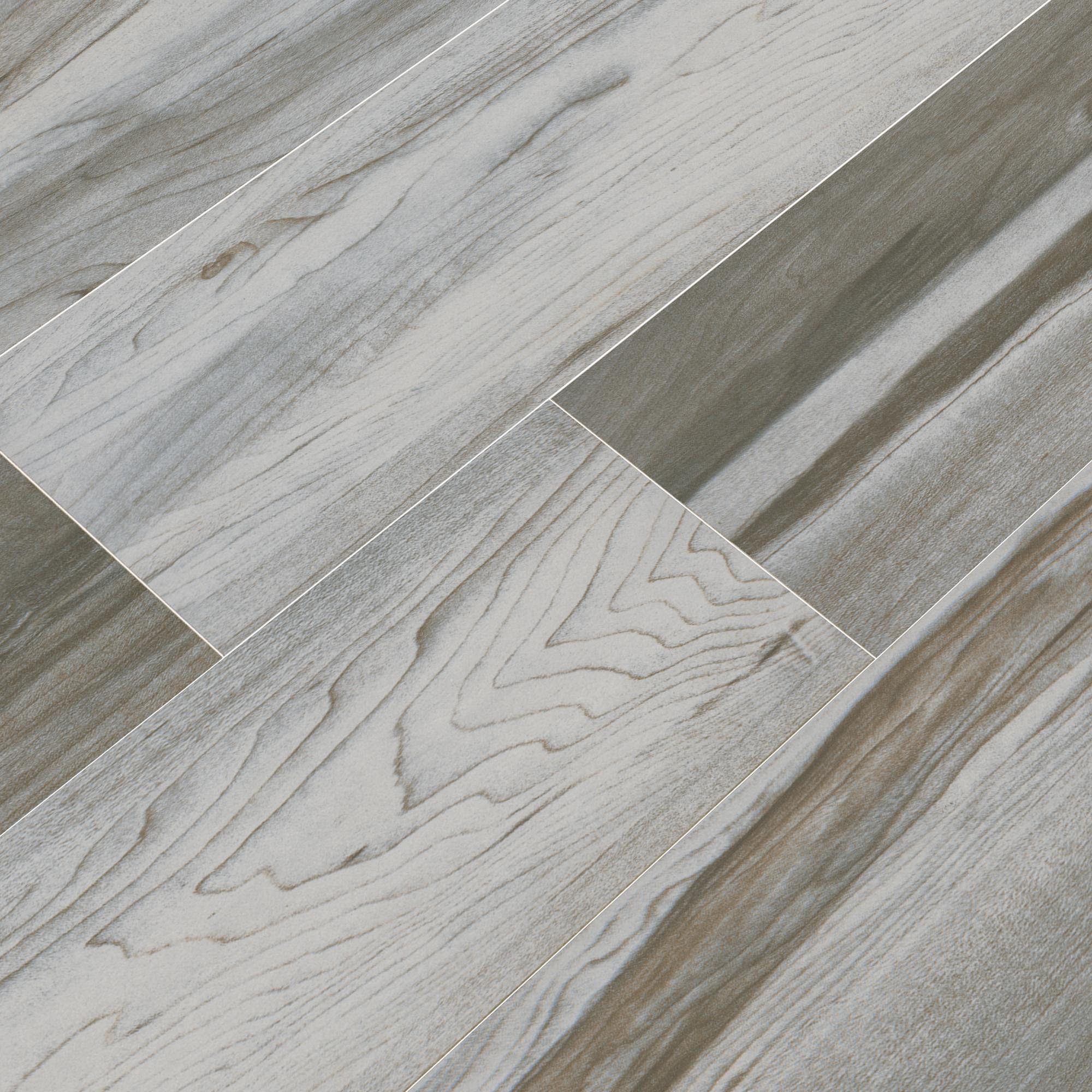"""Nova White / 6""""x24"""" / Matte Ceramic Tile - Rio Wood 0"""
