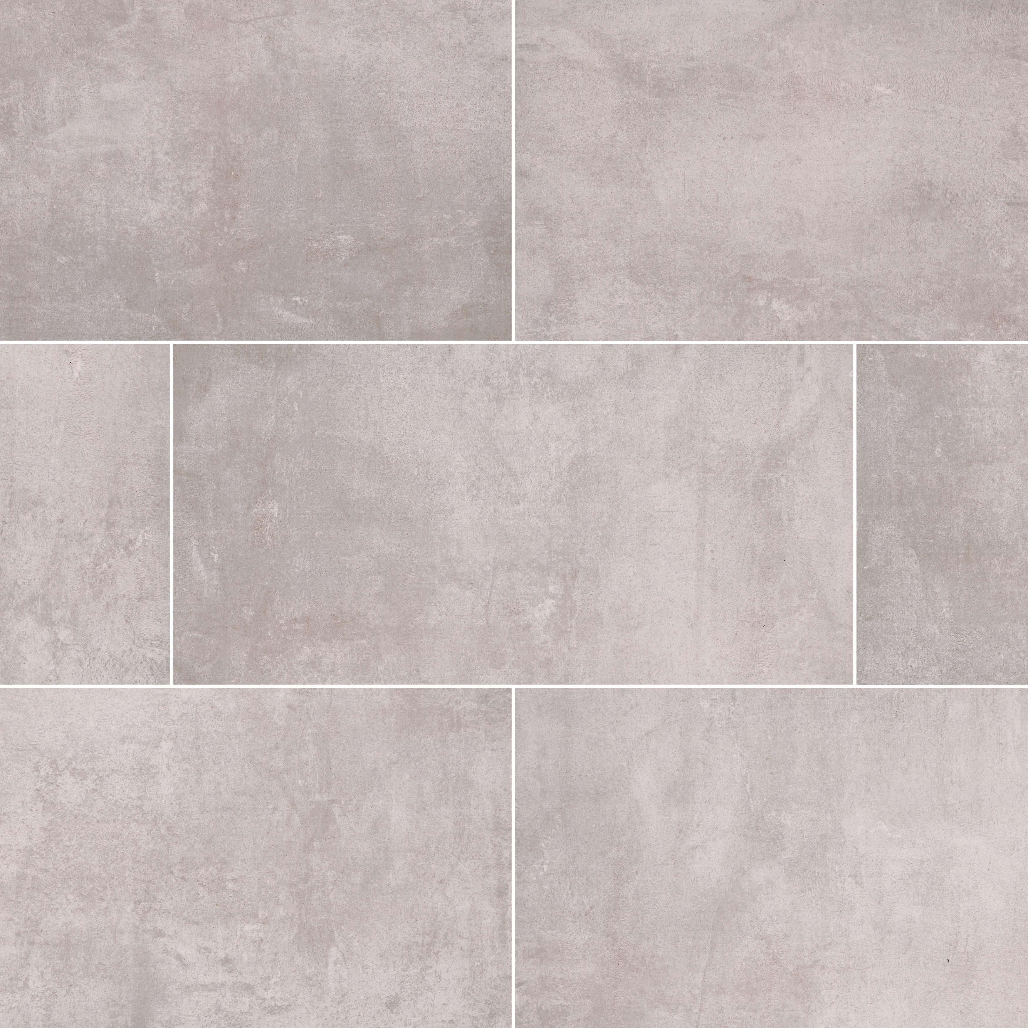 """Anchor Grey / 16""""x32"""" / Matte Porcelain Tile Pavers - Pozzolana Series 0"""