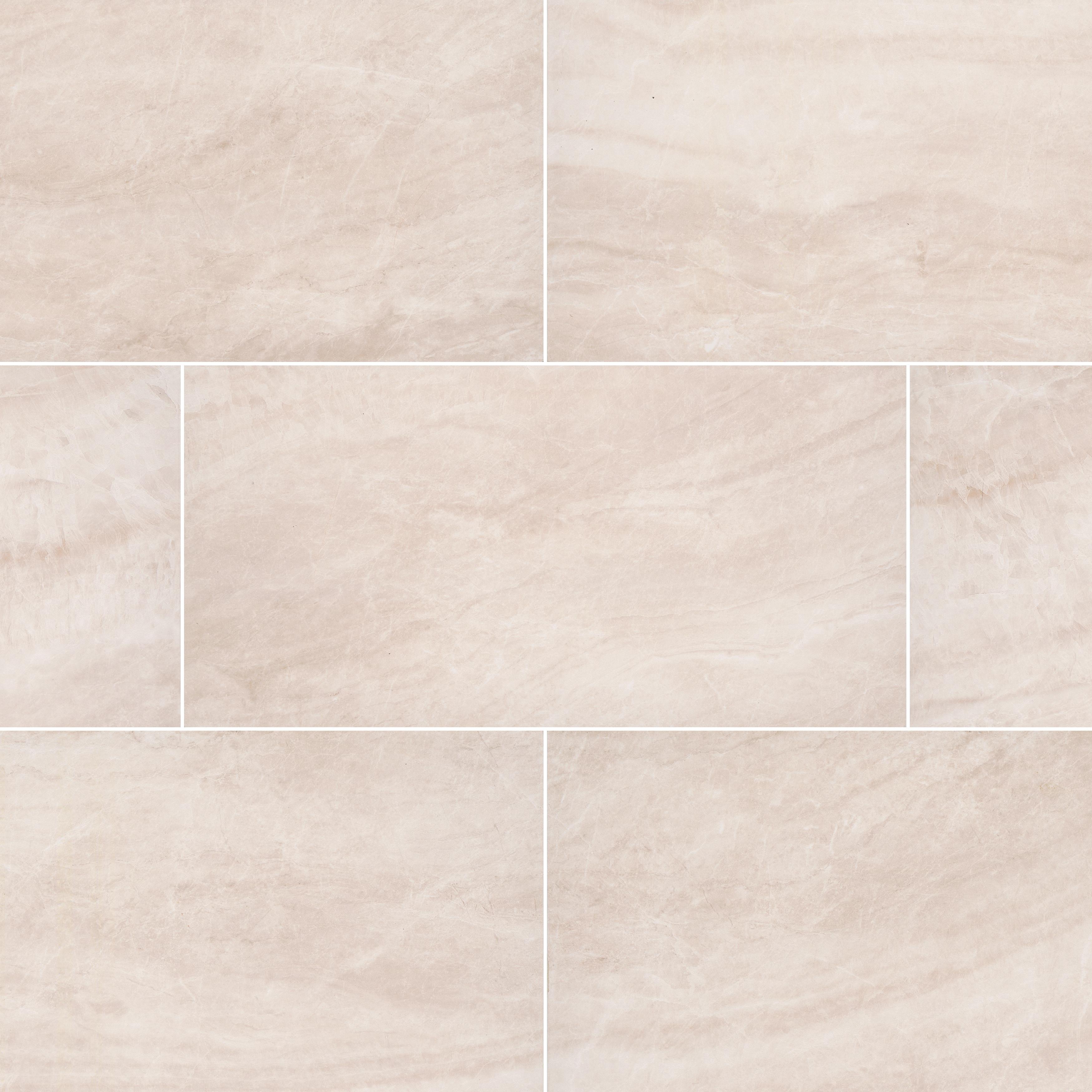 "Carrara / 16""x32"" / Matte Porcelain Tile Pavers - Seaside Marble Series 0"
