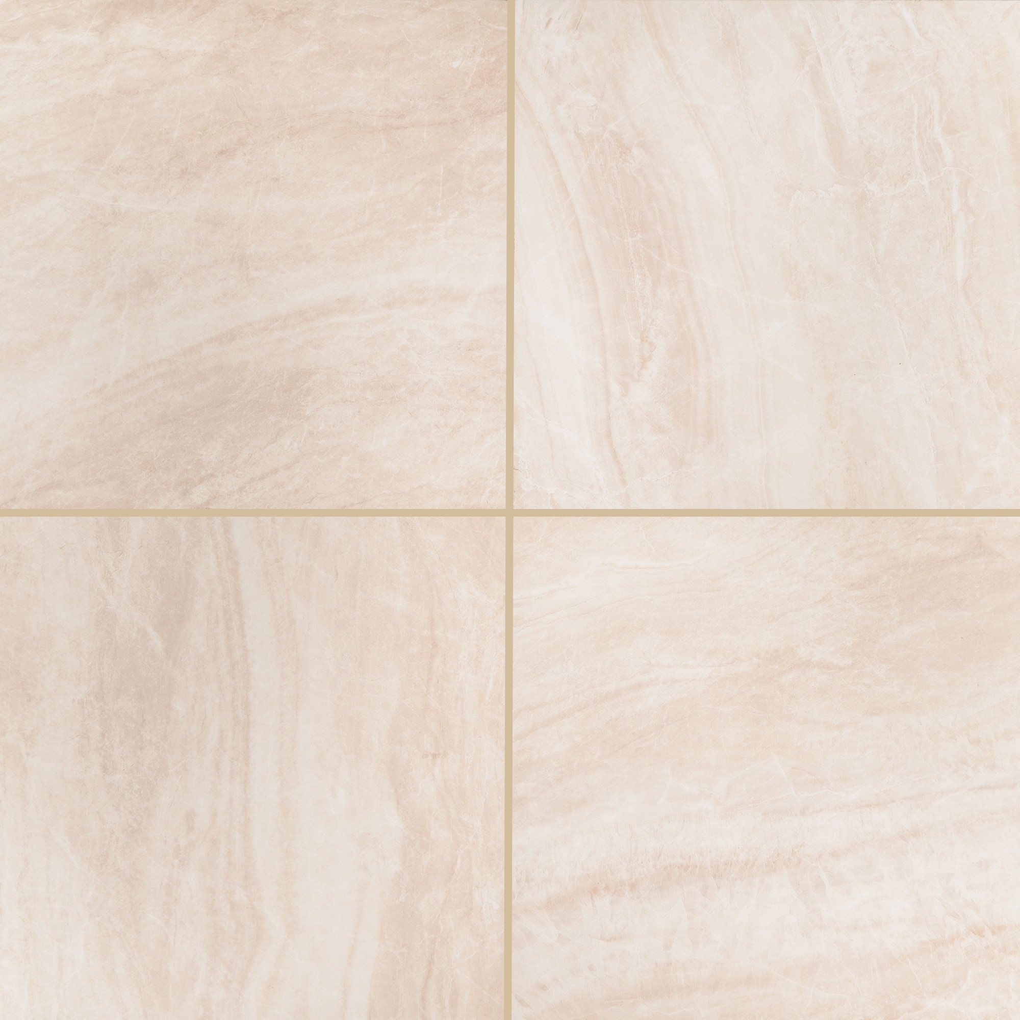 "Carrara / 24""x24"" / Matte Porcelain Tile Pavers - Seaside Marble Series 0"