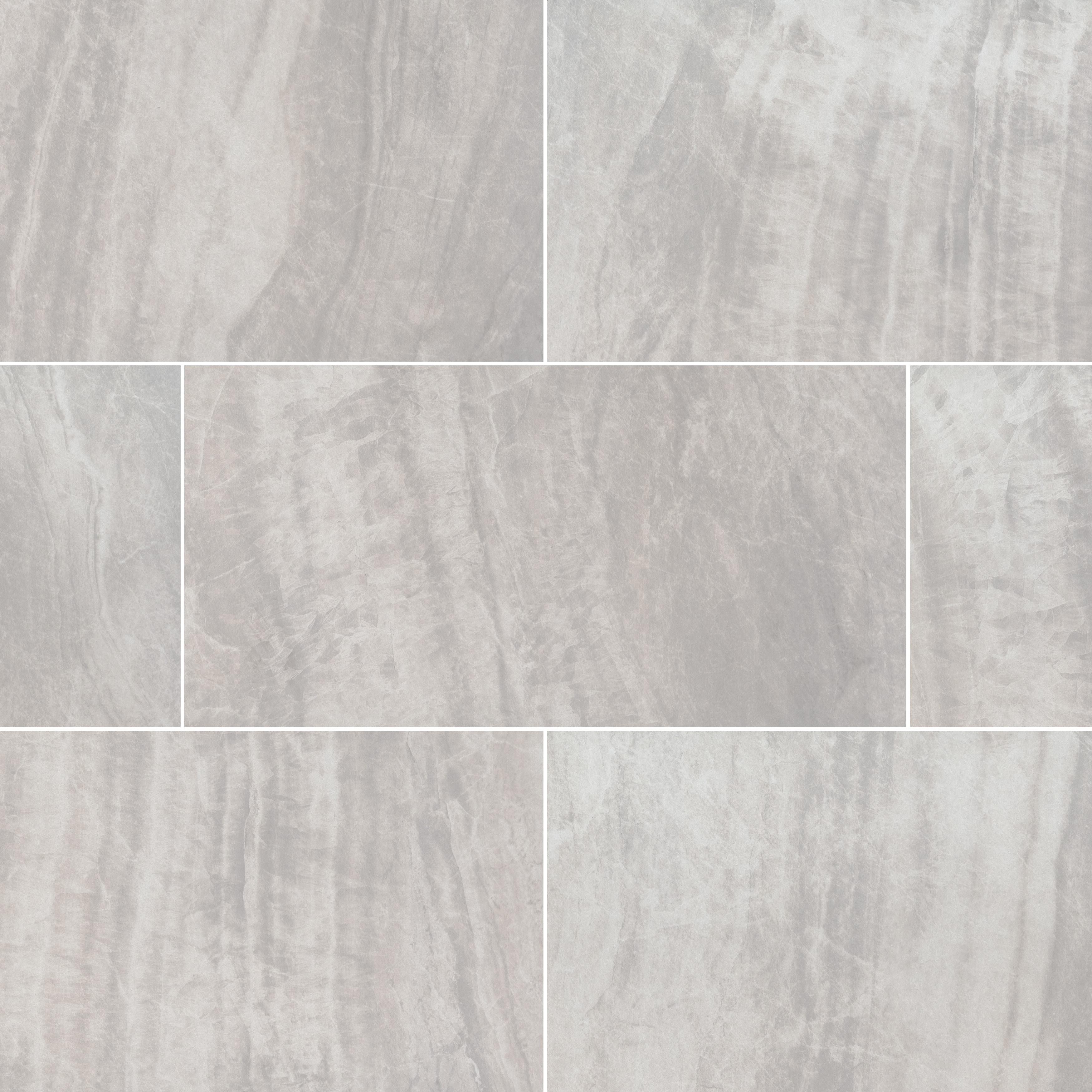 "Girigio / 24""x24""x2cm / Matte Porcelain Tile Pavers - Seaside Marble Series 0"