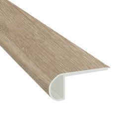 "Vinyl Planks Moldings - Cabot SPC Collections - Warm Birch / Flush Stairnose / 94""x 2-3/4""x 3/4"""