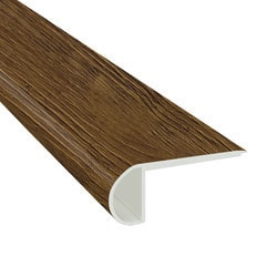 "Vinyl Planks Moldings - Cabot SPC Collections - Seasoned Cherry / Flush Stairnose / 94""x 2-3/4""x 3/4"""