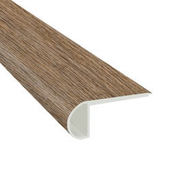 """Vinyl Planks Moldings - Cabot SPC Collections - Outerbanks Grey / Flush Stairnose / 94""""x 2-3/4""""x 3/4"""""""