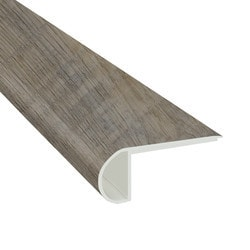 """Vinyl Planks Moldings - Cabot SPC Collections - Weathered Oyster / Flush Stairnose / 94""""x 2-3/4""""x 3/4"""""""