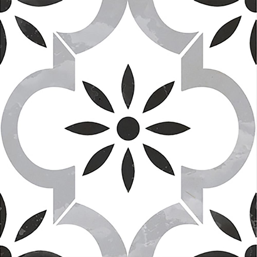 """Vivid / 8""""x8"""" / Matte Fiore Series Porcelain Tile 0"""